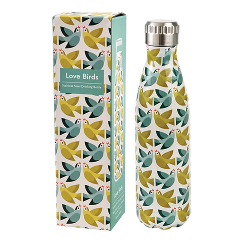 Rex Love Birds Stainless Steel Bottle