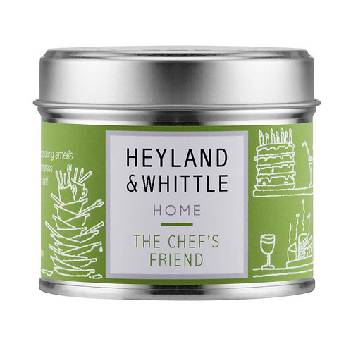 Heyland and Whittle Chef's Friend Candle in a Tin