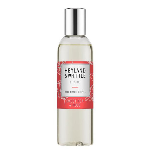 Heyland and Whittle Sweet Pea and Rose Diffuser Refill 200ml
