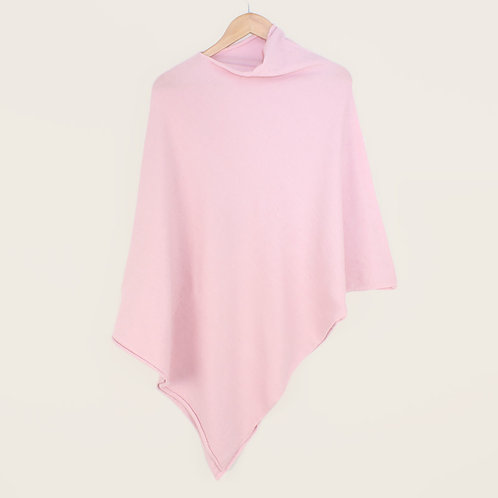 Tilley & Grace Baby Pink Tilley Poncho