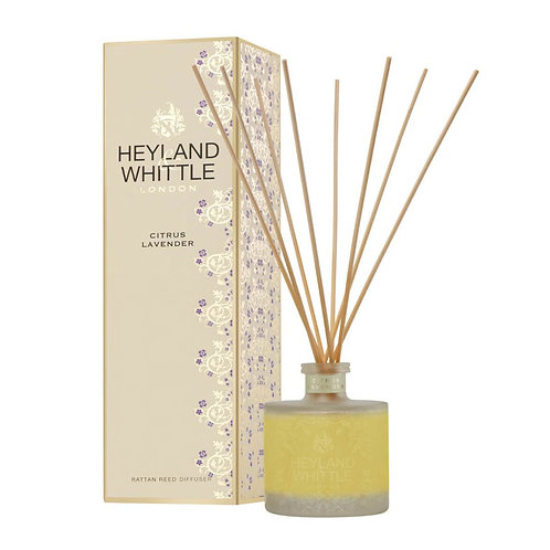 Heyland and Whittle Gold Classic Citrus Lavender Reed Diffuser 200ml