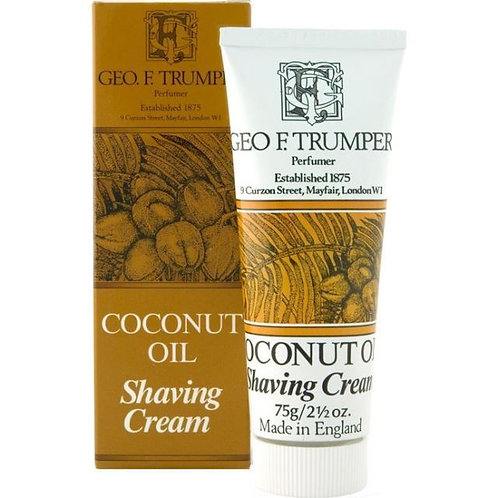 Geo. F. Trumper Coconut Oil Shaving Cream 75g