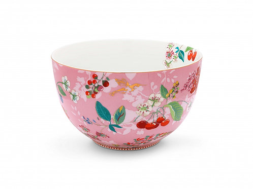 Pip Studio Pink Hummingbirds Salad Bowl 23cm