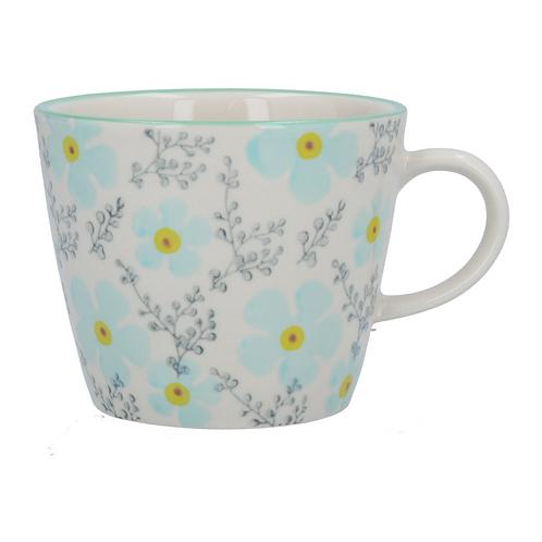 Gisela Graham Blue Periwinkle Mug