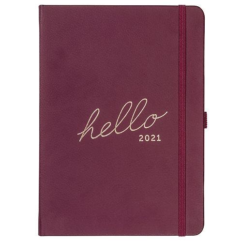 Busy B Berry 'Hello' 2021 Family Diary