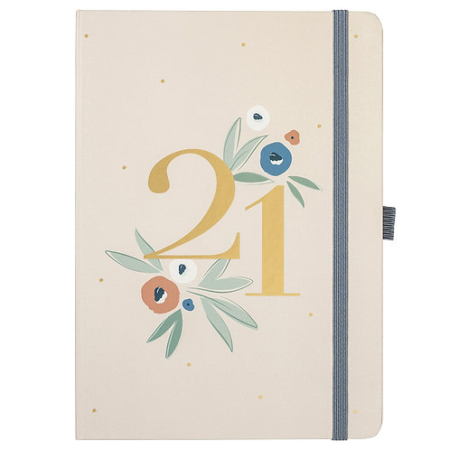Busy B Floral 2021 Diary