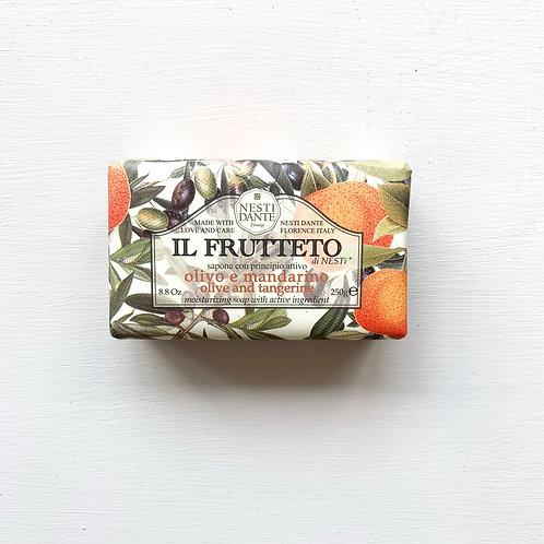 Nesti Dante Olive Oil and Tangerine Soap 250g