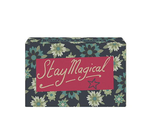 Barefoot and Beautiful 'Stay Magical' Blackberry and Rhubard Soap Bar