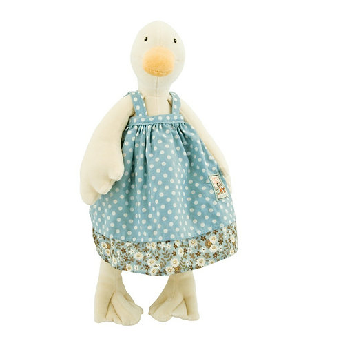 Moulin Roty Jeanne Duck Soft Toy (20cm)