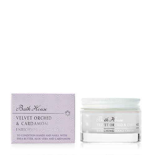 Bath House Velvet Orchid and Cardamon Hand Cream 50ml