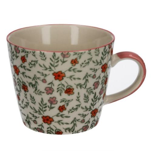 Gisela Graham Ditsy Floral Ceramic Mug