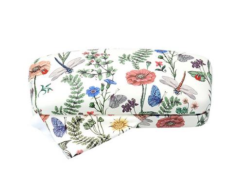Gisela Graham Flora Fauna Glasses Case with Cloth