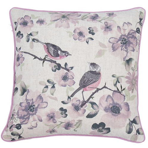 Purple Elvden Cushion
