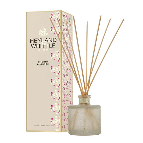 Heyland and Whittle Gold Classic Cherry Blossom Reed Diffuser 200ml