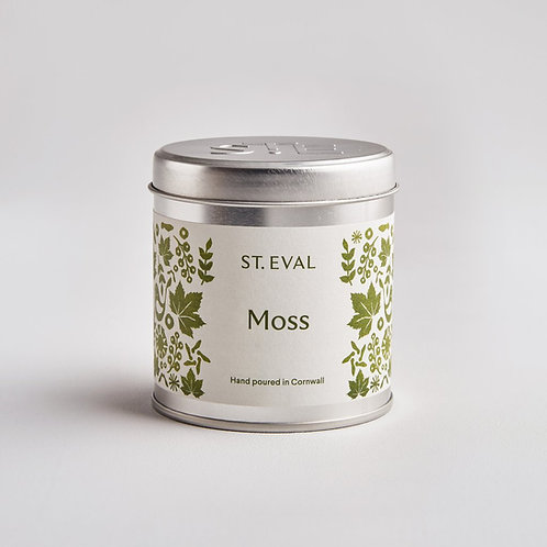 St. Eval Moss Tin Candle