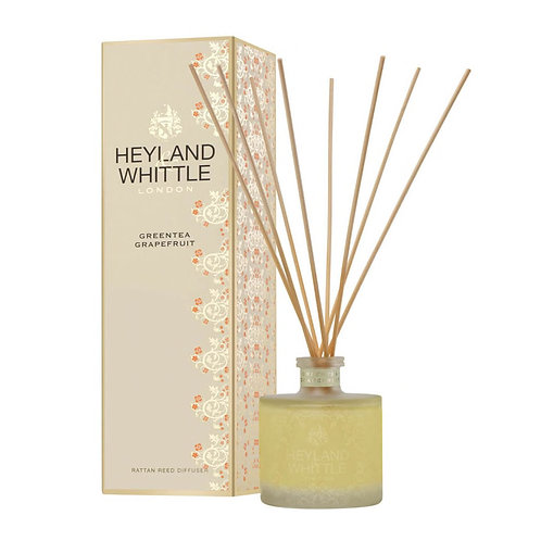 Heyland and Whittle Gold Classic Greentea Grapefruit Reed Diffuser Refill 200ml