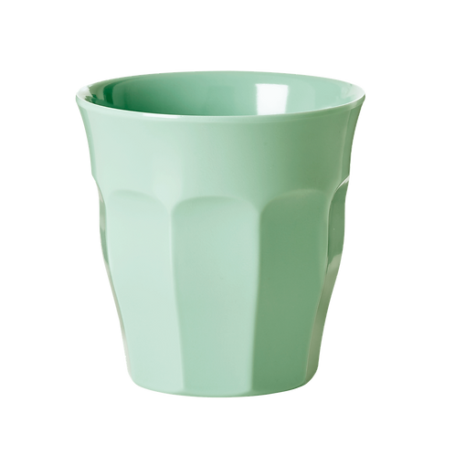 Rice Pale Green Melamine Cup