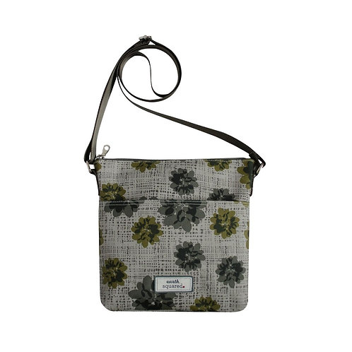 Earth Squared Oilcloth Messenger Bag