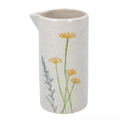Gisela Graham Daisy and Lavender Milk Jug