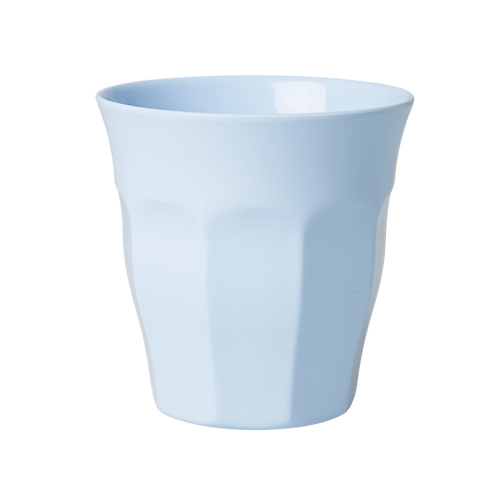 Rice Light Blue Melamine Cup