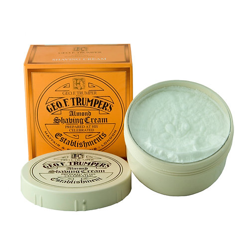 Geo. F. Trumper Almond Shaving Cream 200g