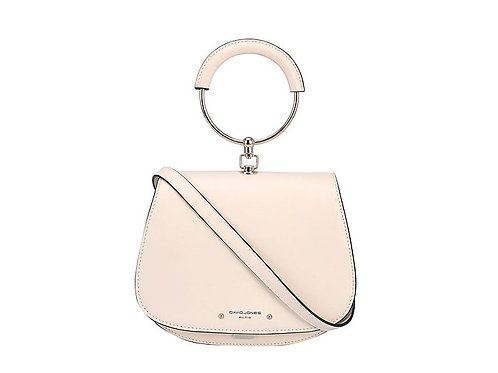 David Jones Cream Hoop Bag