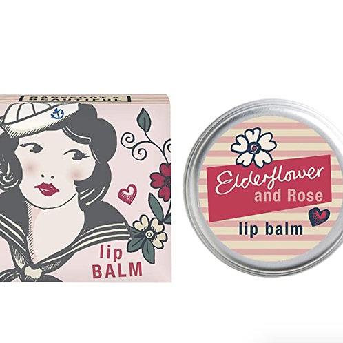 Barefoot and Beautiful Free Spirit Elderflower and Rose Lip Balm