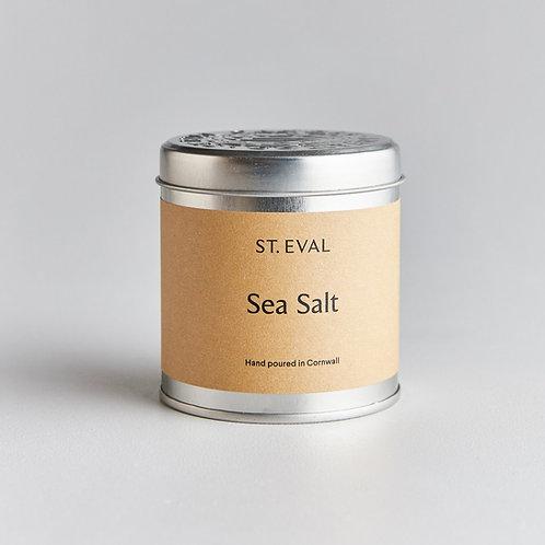 St.Eval Sea Salt Tin Candle
