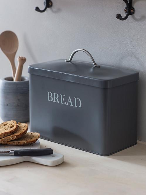 Garden Trading Charcoal Bread Bin