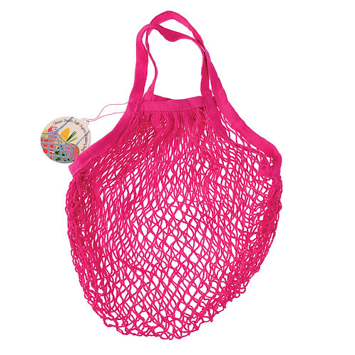 Rex Organic Cotton Pink French Market Bag