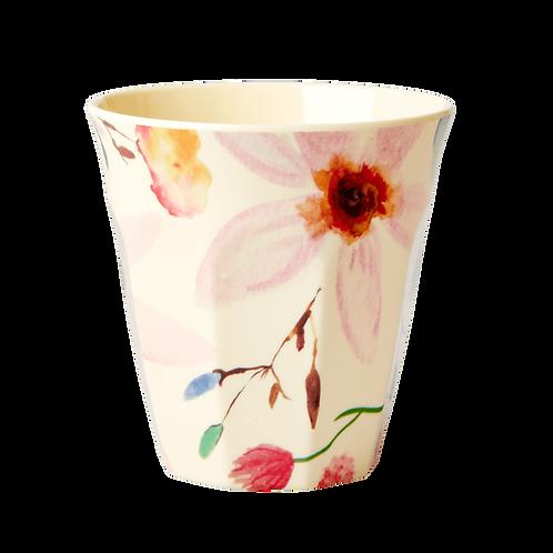 Rice Selmas Flower Melamine Cup