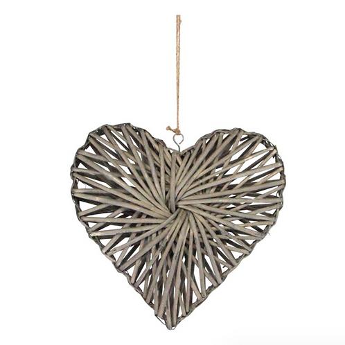 Gisela Graham Willow Hanging Heart