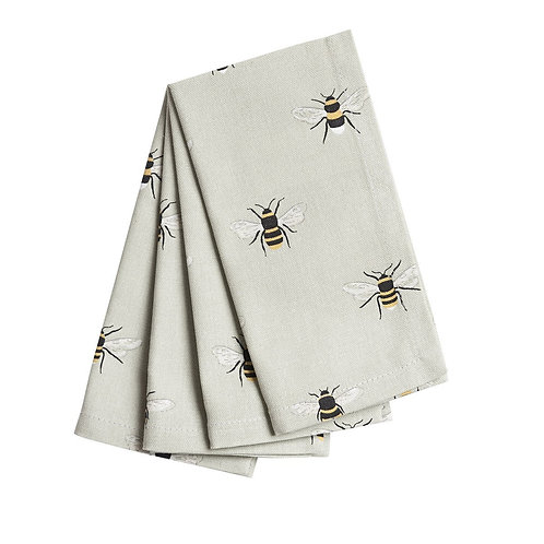 Sophie Allport Bees Napkins (Set of 4)