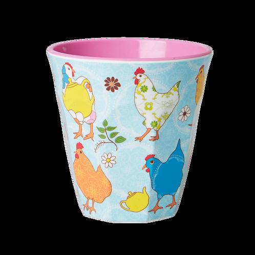 Rice Chicken Melamine Cup