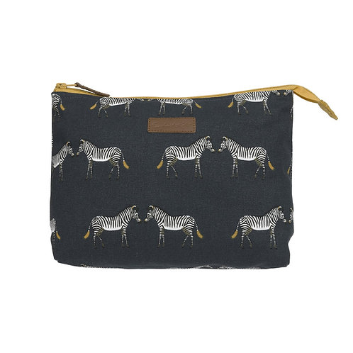 Sophie Allport Zebra Wash Bag (Large)