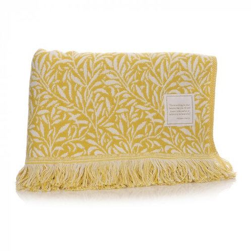 William Morris Yellow Willow Blanket