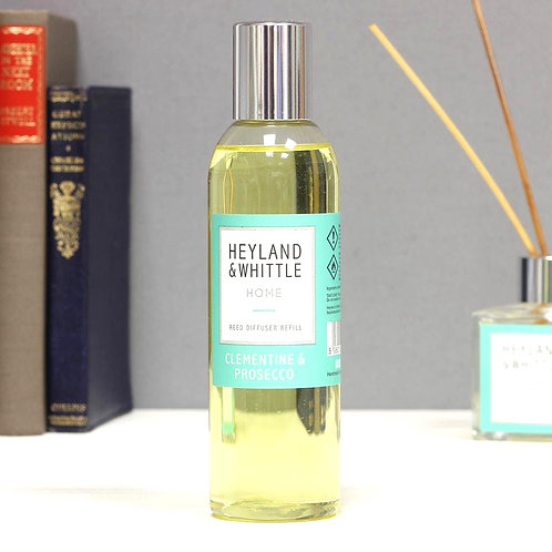 Heyland and Whittle Clementine and Prosecco Reed Diffuser Refill 200ml
