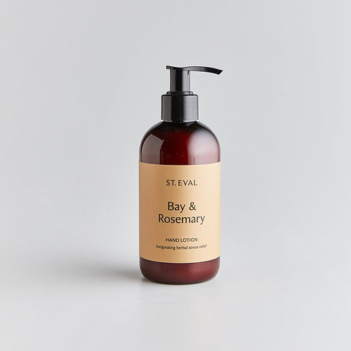 St.Eval Bay and Rosemary Hand Lotion 250ml
