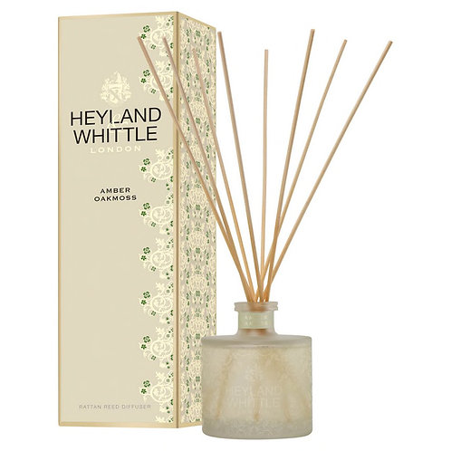 Heyland and Whittle Gold Classic Amber Oakmoss Reed Diffuser 200ml