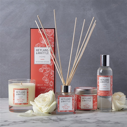 Heyland and Whittle Sweet Pea and Rose Diffuser 100ml
