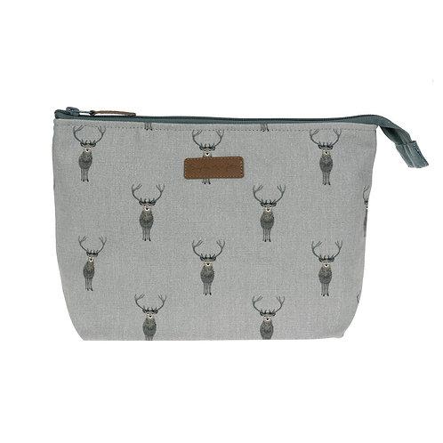 Sophie Allport Highland Stag Wash Bag
