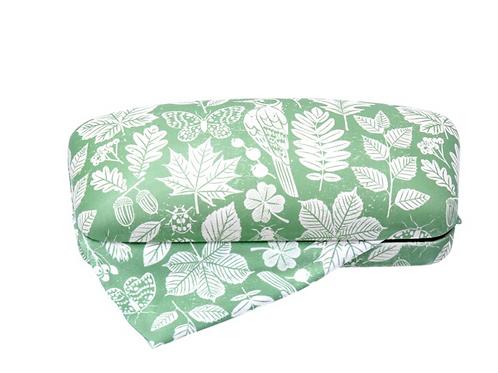 Gisela Graham Green Garden Glasses Case with Cloth
