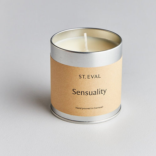St. Eval Sensuality Tin Candle