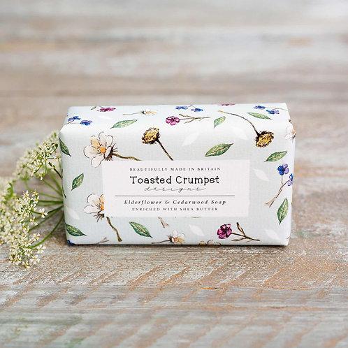 Toasted Crumpet Elderflower and Cedarwood Soap