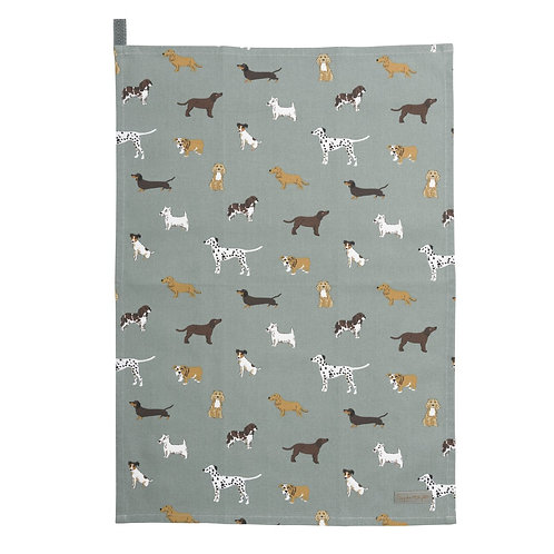 Sophie Allport Fetch Tea Towel
