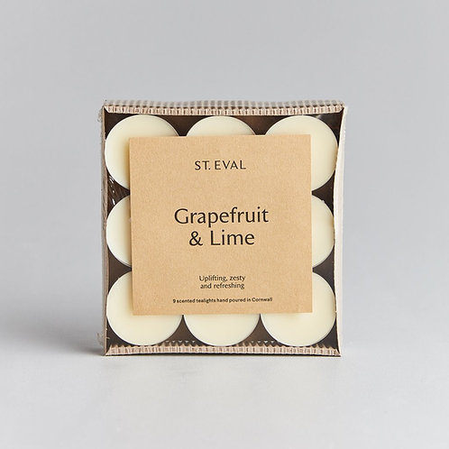 St.Eval Grapefruit and Lime Tealights