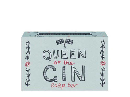 Barefoot and Beautiful 'Queen of The Gin' Elderflower Soap Bar