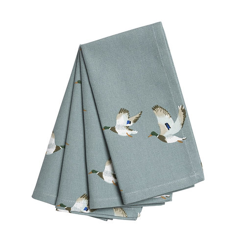 Sophie Allport Ducks Napkins (Set of 4)