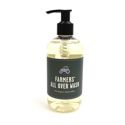 Welsh Lavender Farmers All Over Wash - Hair, Hands and Body 300ml