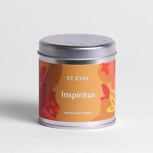 St. Eval Inspiritus Tin Candle